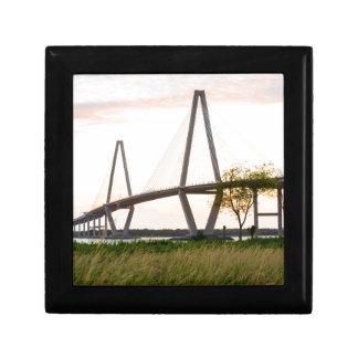 Charleston South Carolina Bridge - Cooper River Gift Box
