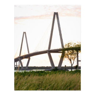 Charleston South Carolina Bridge - Cooper River Letterhead