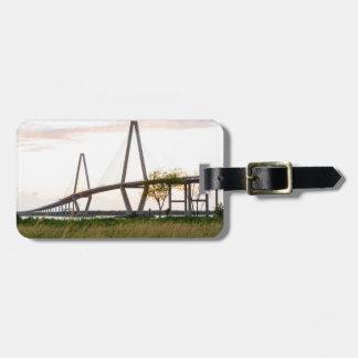 Charleston South Carolina Bridge - Cooper River Luggage Tag