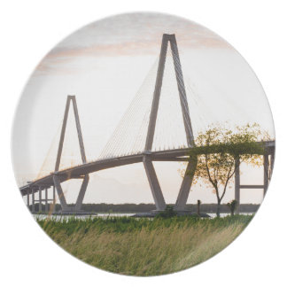 Charleston South Carolina Bridge - Cooper River Plate