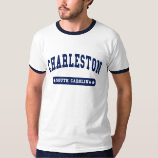 Charleston South Carolina College Style tee shirts