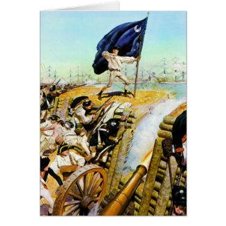 Charleston, South Carolina June 1776 Note Card