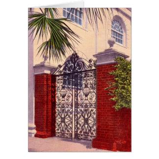 Charleston South Carolina Saint Michael's Church Card