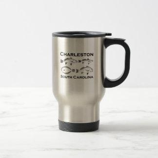 Charleston South Carolina Saltwater Fishing Travel Mug