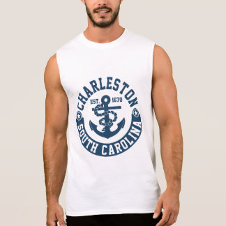 Charleston South Carolina Sleeveless Shirt