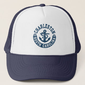 Charleston South Carolina Trucker Hat
