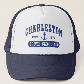 Charleston South Carolina Trucker Hat