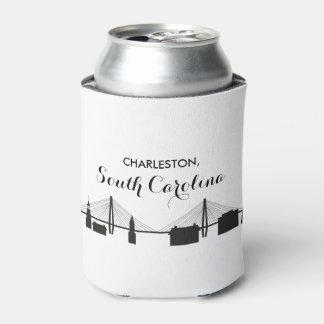 Charleston South Carolina Wedding Can Cooler