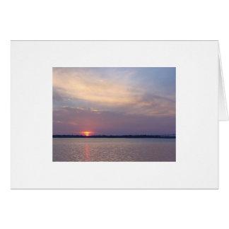 Charleston Sunset Note Card