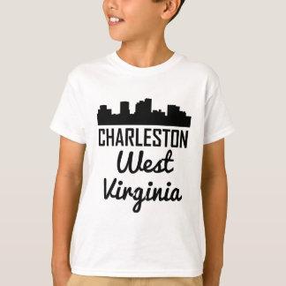 Charleston West Virginia Skyline T-Shirt