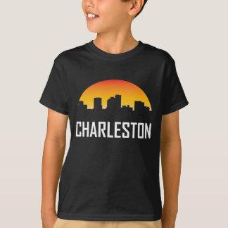 Charleston West Virginia Sunset Skyline T-Shirt