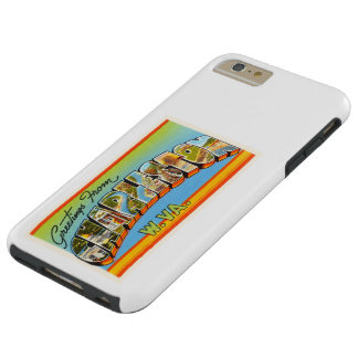 Charleston West Virginia WV Old Vintage Postcard- Tough iPhone 6 Plus Case