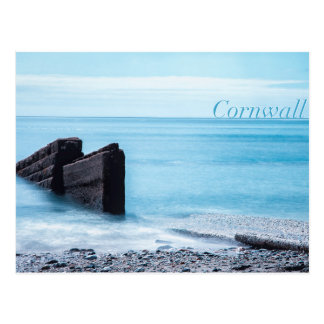 Charlestown Beach, Cornwall Postcard