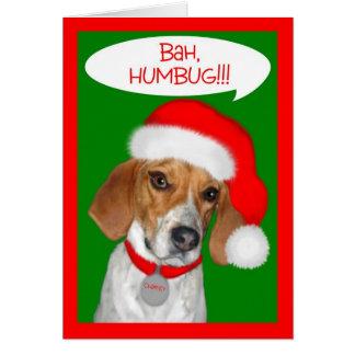 Charley Dog Series Bah Humbug Clothing and Gifts Card