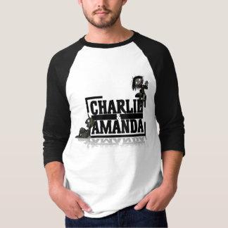 Charlie & Amanda Logo Raglan T-Shirt