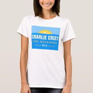 Charlie Crist Florida Governor 2014 T-Shirt