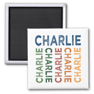 Charlie Cute Colorful Magnet