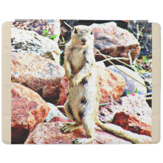 """""""Charlie"""" Ground Squirrel iPad Smart Cover iPad Cover"""