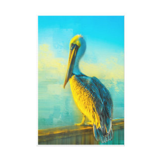 Charlie in the Morning Canvas Print