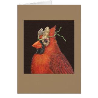 Charlie the cardinal card
