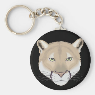 Charlie the Cougar Keychain
