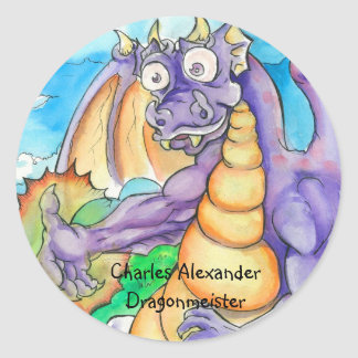 Charlie the Prayin' Dragon Stickers (Charlie)