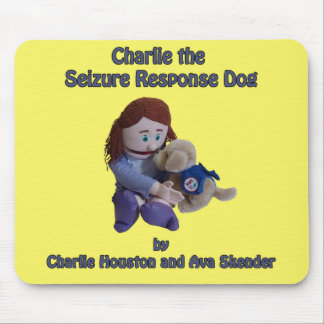 Charlie the Seizure Response Dog Mouse Pad