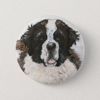 Charlie's Snow Day Button