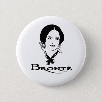 Charlotte Bronte 2 Inch Round Button