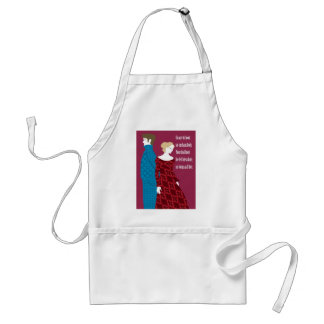 """Charlotte Bronte """"Jane Eyre"""" gift with quote Standard Apron"""