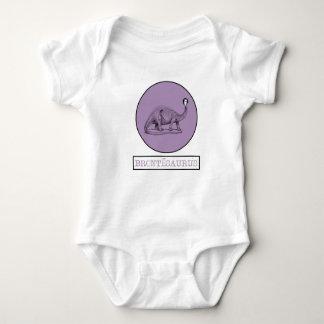 Charlotte Bronte - saurus Baby Body Suit Baby Bodysuit