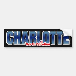 Charlotte Bumper Bumper Sticker