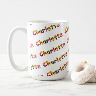 Charlotte Classic White Mug