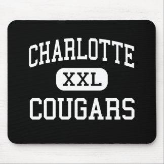 Charlotte - Cougars - Catholic - Charlotte Mouse Mats