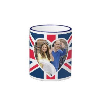Charlotte Elizabeth Diana - British Will Kate Ringer Mug