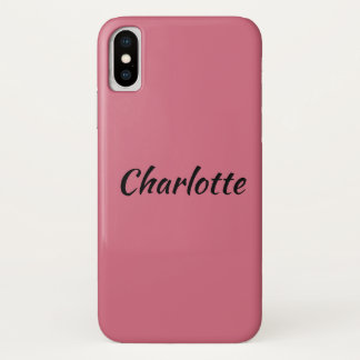 Charlotte from orphan Black character name iPhone X Case