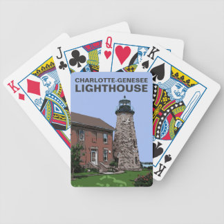 CHARLOTTE-GENESEE BICYCLE PLAYING CARDS