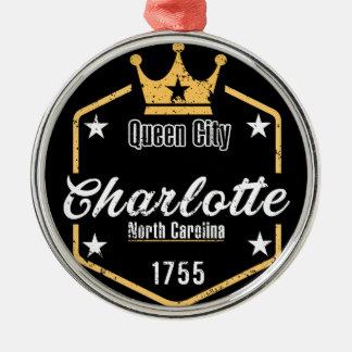 Charlotte Metal Ornament
