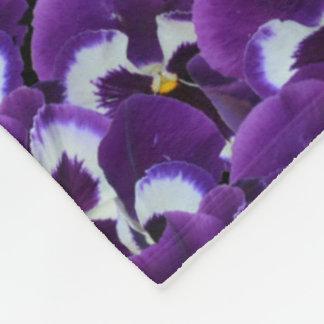 Charlotte Name, Logo, Purple Floral Lge Blanket