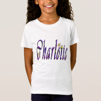 Charlotte Name Logo, T-Shirt