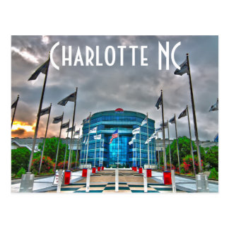 Charlotte NC lowes motor speedway Postcard