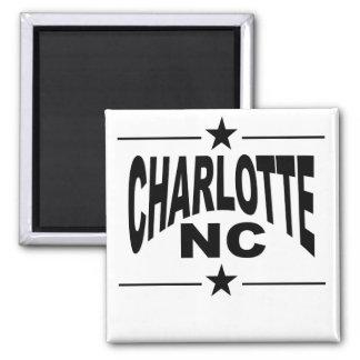 Charlotte NC Magnet