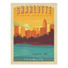 Charlotte, NC Postcard