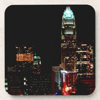 Charlotte NC Skyline Drink Coaster