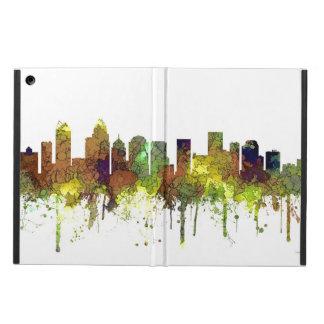 Charlotte NC Skyline SG Safari Buff Cover For iPad Air