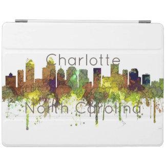 Charlotte NC Skyline SG Safari Buff iPad Cover