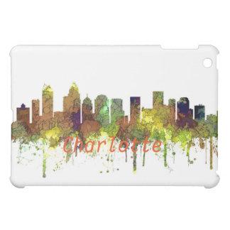 Charlotte NC Skyline SG Safari Buff iPad Mini Case