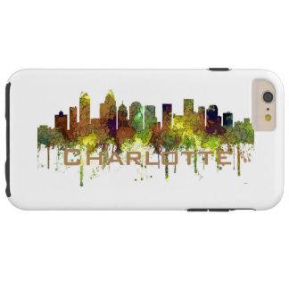 Charlotte NC Skyline SG Safari Buff Tough iPhone 6 Plus Case