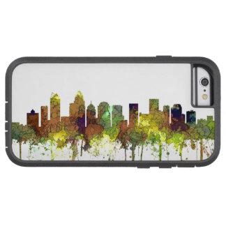 Charlotte NC Skyline SG Safari Buff Tough Xtreme iPhone 6 Case
