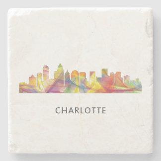 CHARLOTTE NC WB1 - STONE BEVERAGE COASTER